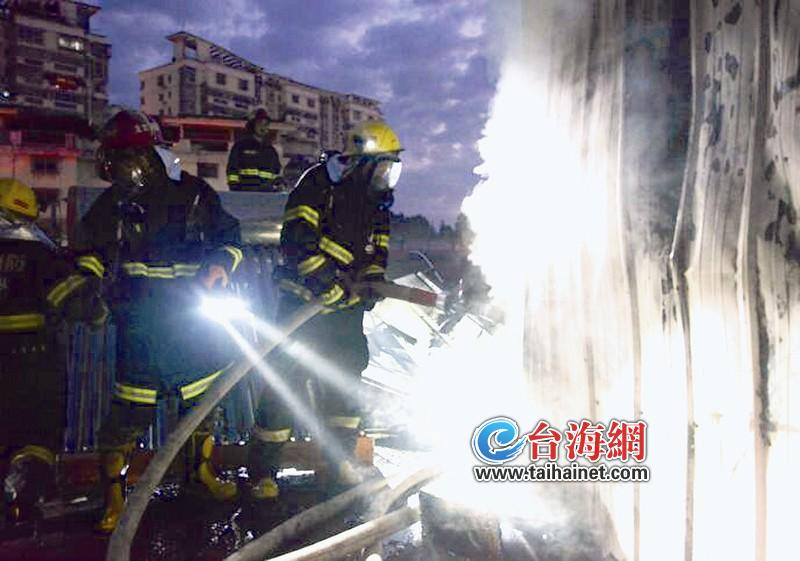 起火建筑为3层框架结构公共建筑