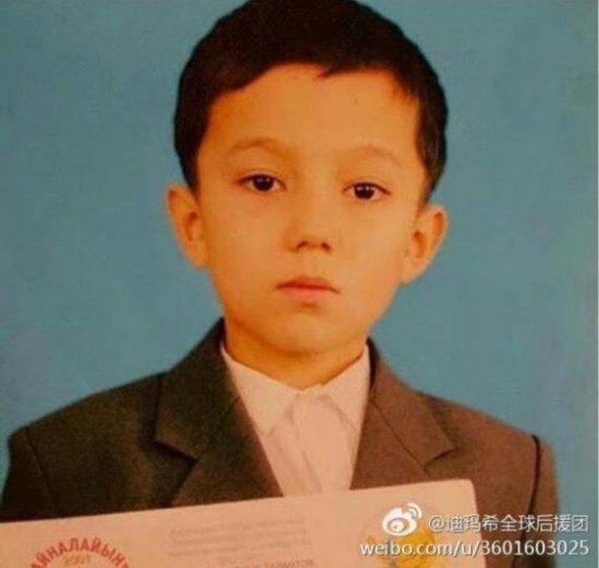 迪玛希从小就对音乐着迷,5岁在合唱团表演,6岁在哈萨克斯坦获得钢图片