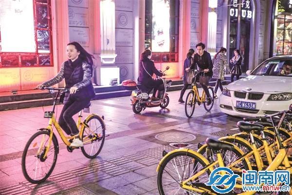 共享单车进驻泉州引发城市变样 摩的师傅要转行送外卖