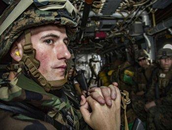 未雨绸缪?驻日美海军陆战队防核生化演练