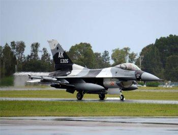 钻石盾牌2017军演即将开始 围观F16