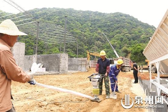 兴泉铁路德化段已具备施工条件 拌和站下月投用