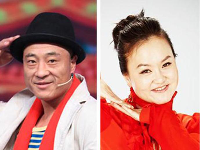 刘小光和妻子陈静既是夫妻,也是二人转搭档