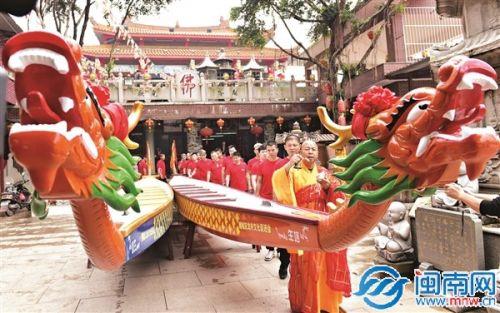 泉州扒龙船习俗再现 端午将上演赛龙舟好戏(图)