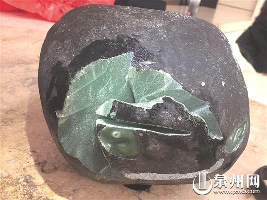 泉州一小偷专偷高档小区却不识货上千万翡翠原石被当垃圾