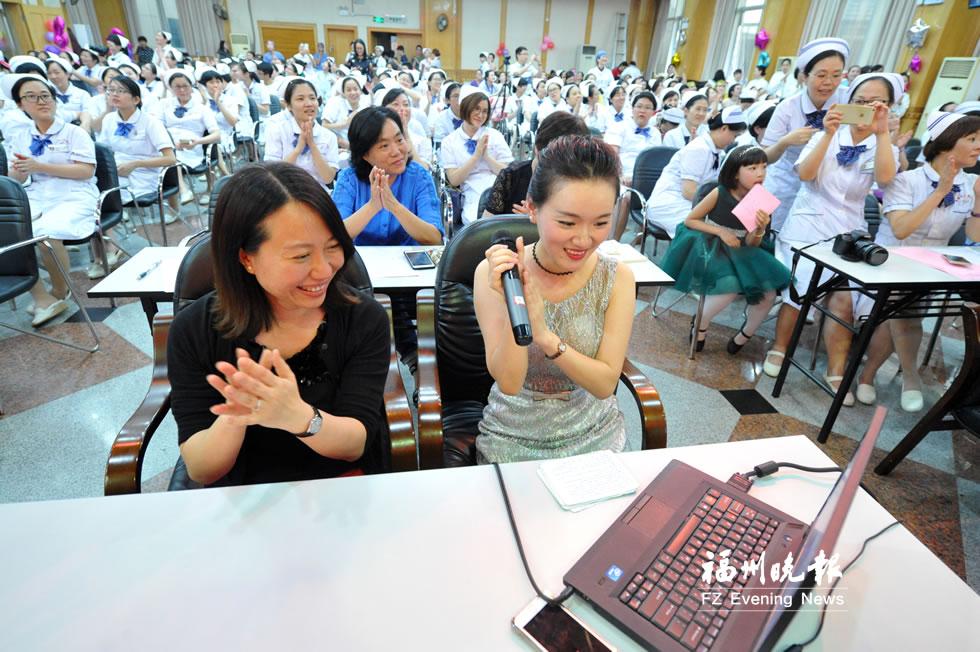 福建省人民医院举行庆祝护士节文艺汇演活动