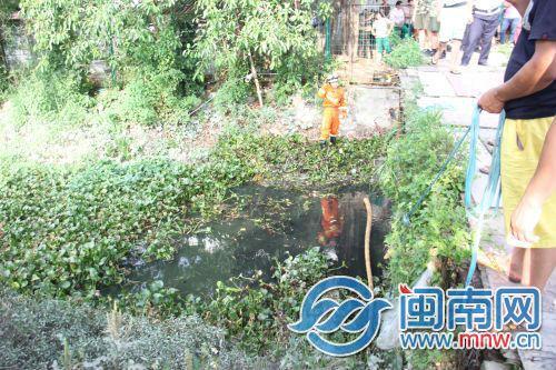 晋江一13岁女孩出门买烟 掉水渠里身亡
