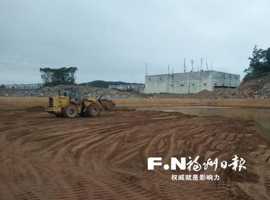 长乐湖南镇拆除两处违法建筑 面积约6500平方米图片