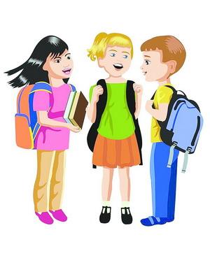 7月9日,10日,家长带孩子到学校报名登记图片