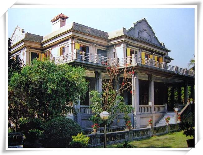中德记度假别墅酒店豪华,考究,充满欧式风格,是黄奕住1919年回国定居