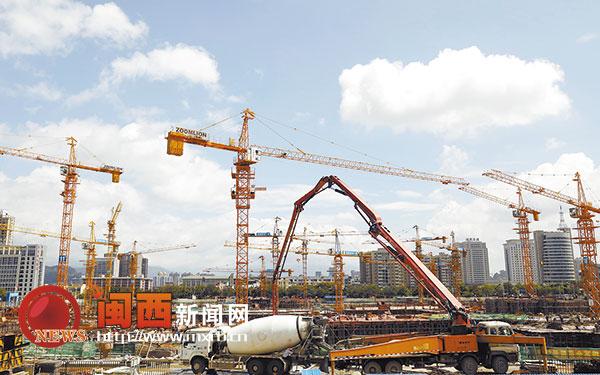 龙岩市惠民小区项目预计2018年下半年竣工