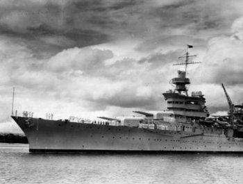 美军二战遭日军击沉舰艇在海底被找到