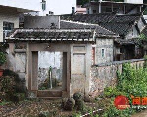 上杭白砂碧沙村流淌红色历史