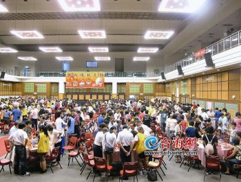 台湾本岛分赛区昨日启动 二十五分钟就产生一位初赛女状元