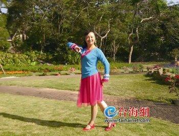 她自拍上百广场舞视频 舞蹈中的厦门美景获全国各地舞友点赞