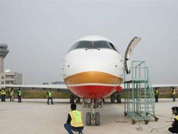 中国商飞总装中心批产后交付首架ARJ21飞机