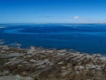 青海湖面积持续扩大 达17年来最大值