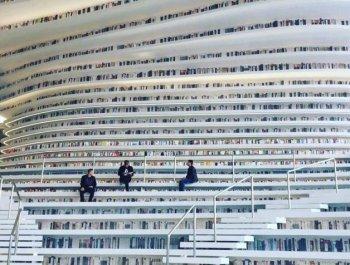 """天津滨海这座""""网红""""图书馆刷屏了"""