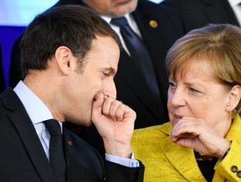 """欧洲各国领导人上演""""表情包""""大戏"""