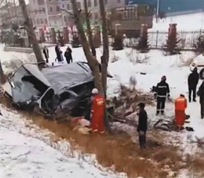 林业大学9名女生在内的12人5死7伤.(图源:搜狐网)-北林大学