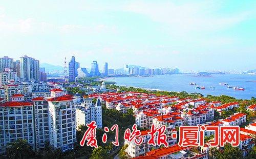 台海网 新闻中心 厦门 各区报道 >> 正文            海沧新城建设日