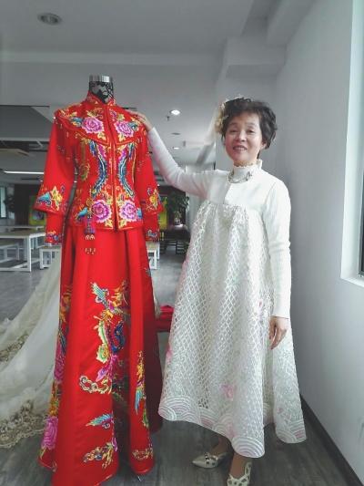 中国新娘应该有一件自己的美丽婚纱――台湾服装设计师蔡美月的福建创业故事