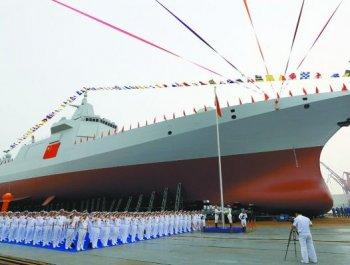 港媒揭秘国产055驱逐舰:可与美舰匹敌
