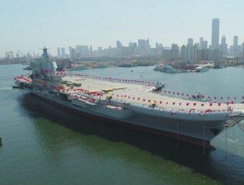 中国首艘国产航母或即将海试