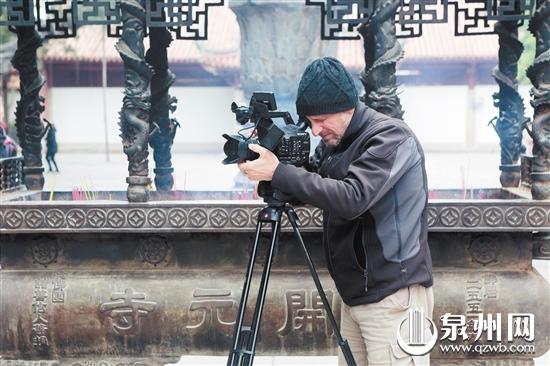 意大利国家电视台来泉拍摄旅游纪录片 泉州镜头10月亮相意大利(2)