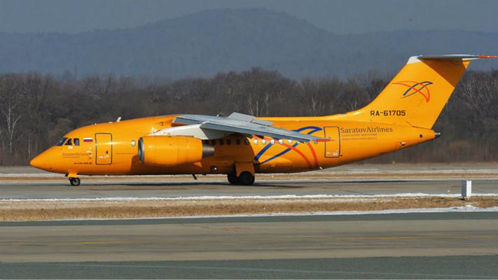 俄罗斯萨拉托夫航空公司一架载有71人的安-148客机,从莫斯科起飞不久