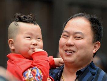 福州:笑脸迎新春
