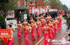 晋安实验幼儿园:幼儿元宵踩街欢 共享传统民俗情