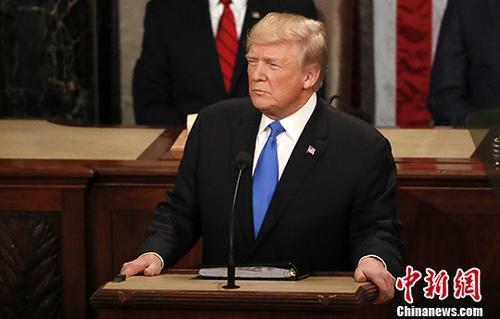 美国总统特朗普签署 与台湾交往法案图片 35309 500x319
