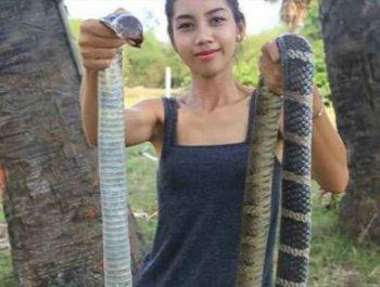 可怕!柬埔寨女子杀害并食用野生动物遭逮捕