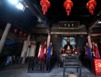 探访福建平和九峰500年历史城隍庙