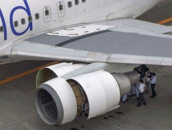 日航客机起飞三分钟后零件掉落紧急返航