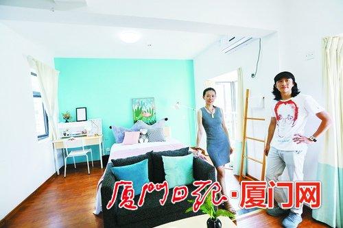 台湾青年公寓迎来首批住户 可拎包入住进出采用人脸识别