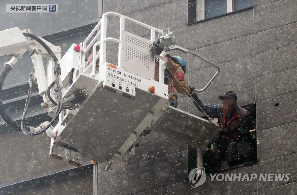 韩火灾12名中国公民受伤 我使馆敦韩方全力救治
