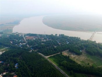 这里是九曲黄河最后一个弯