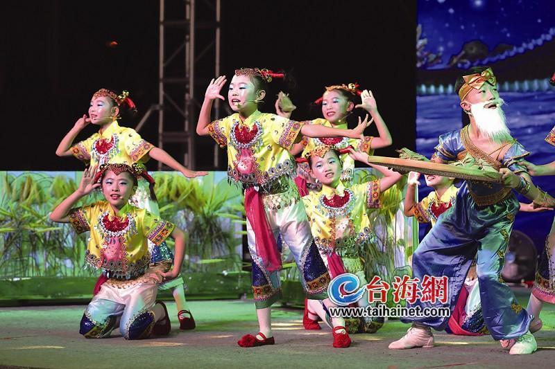 翔安区小学生竞逐闽南童谣v童谣小学年级考试卷六图片