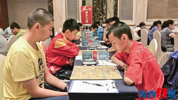 国家级象棋赛同安少年摘金 成福建首位少年象棋赛冠军