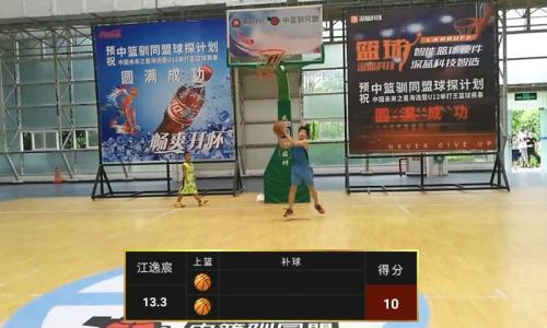 """""""未来之星""""选拔暨u12单打王篮球赛在厦门落幕 用人工智能科技选拔篮球"""