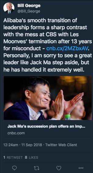 黄小山个人简历马云回归教育轰动全球 国外网友:马云,你是真正的励志人物(2)