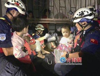 厦门救援队跨省救灾 江门市民作诗感激
