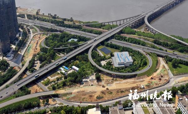 橘园洲大桥_福州橘园洲大桥东桥头\