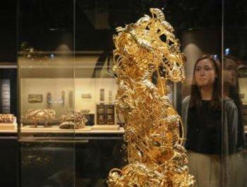 香港展出120套潮州木雕