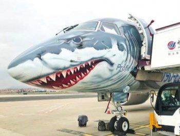 """巴西航空""""大鲨鱼""""E190-E2来厦卖萌"""