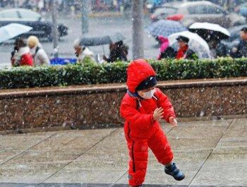 下雪了!上海迎来2018年冬天的第一场雪