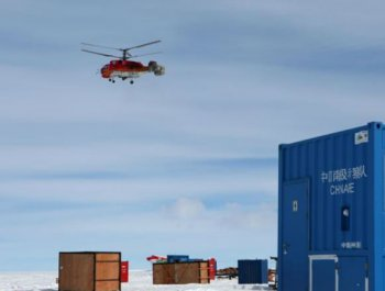 中国科考队为出征南极内陆做准备
