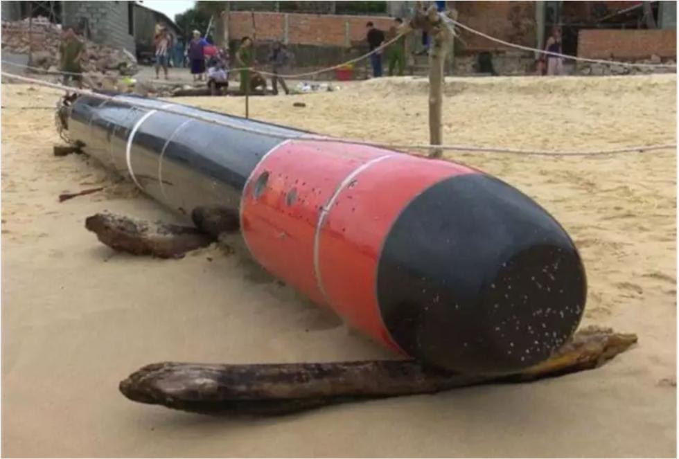 """中国海军回应""""越南渔民捞到中国鱼雷"""":丢失的训练雷 不针对任何目标【视频】"""